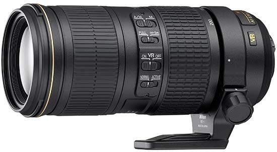 Nikon AF-S NIKKOR 70–200mm f/4G ED VR
